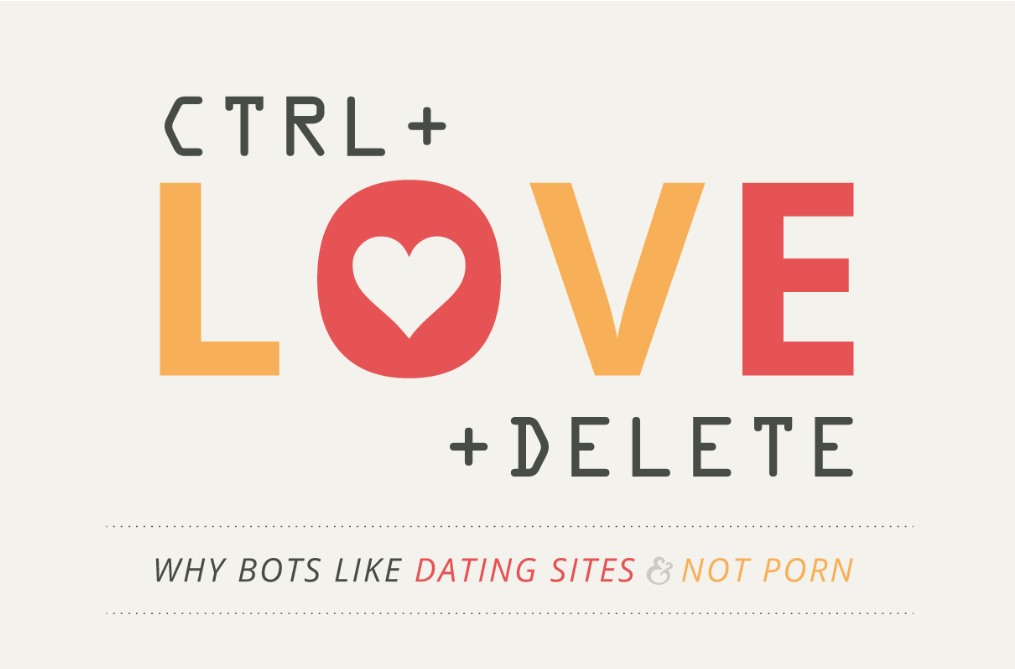 How many bots are on dating sites